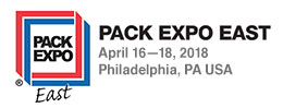 Pack Expo East 2018 home page
